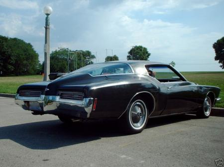 the Buick boattail